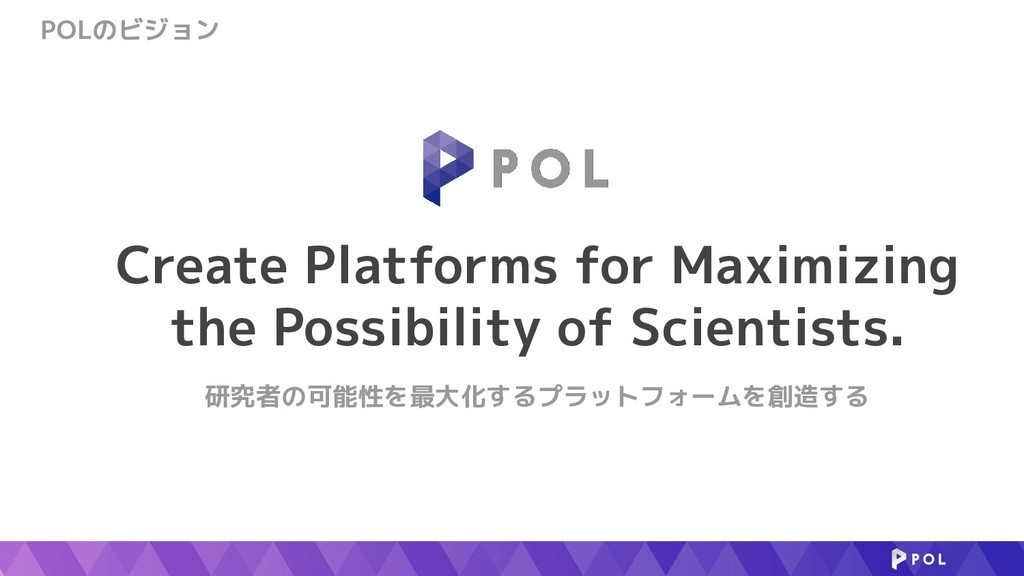 Create Platforms for Maximizing the Possibility...