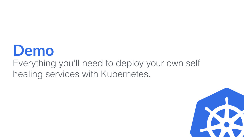 Demo Everything you'll need to deploy your own ...