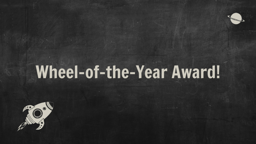 Wheel-of-the-Year Award!