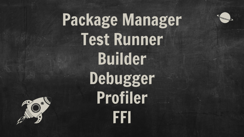 Package Manager Test Runner Builder Debugger Pr...