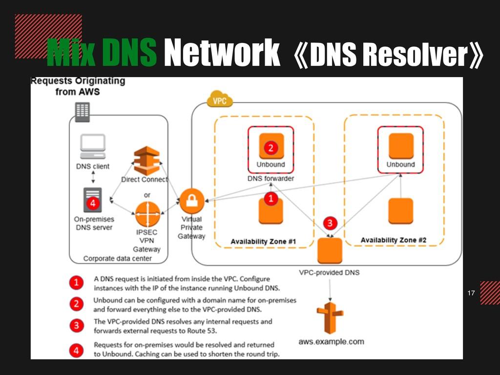 17 Mix DNS Network《DNS Resolver》