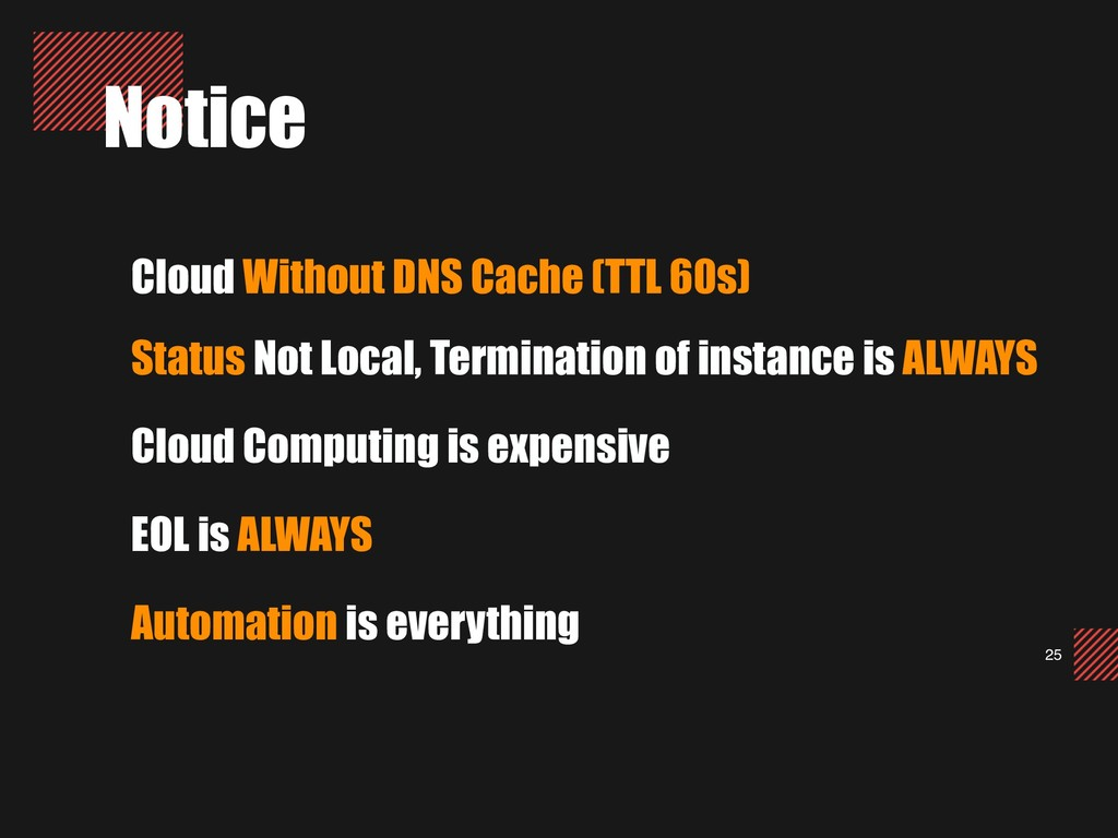 25 Notice Cloud Without DNS Cache (TTL 60s) Sta...