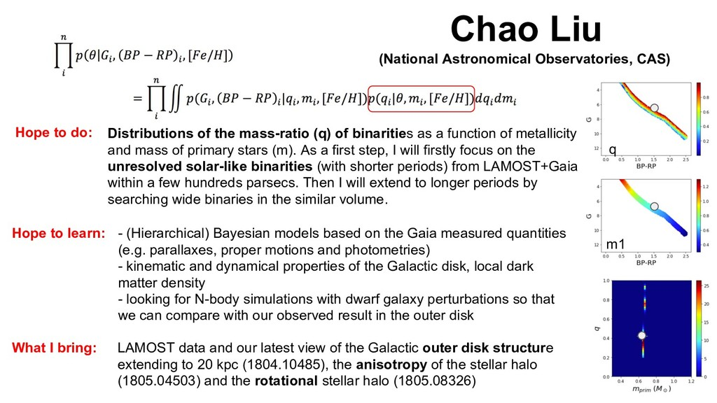 Chao Liu (National Astronomical Observatories, ...