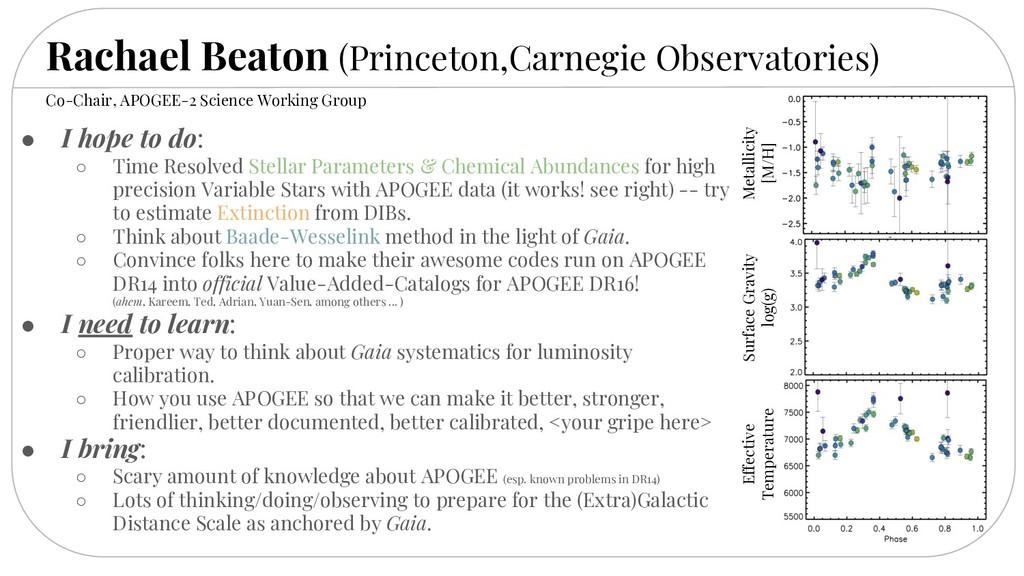 Rachael Beaton (Princeton,Carnegie Observatorie...