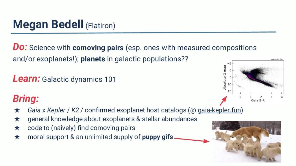 Megan Bedell (Flatiron) Do: Science with comovi...