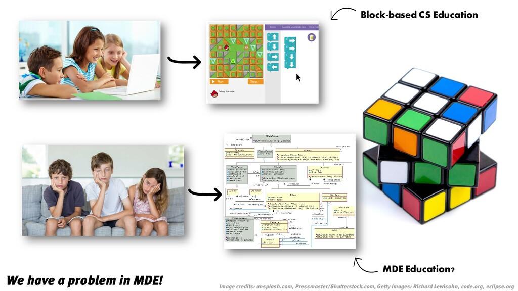 Block-based CS Education MDE Education?