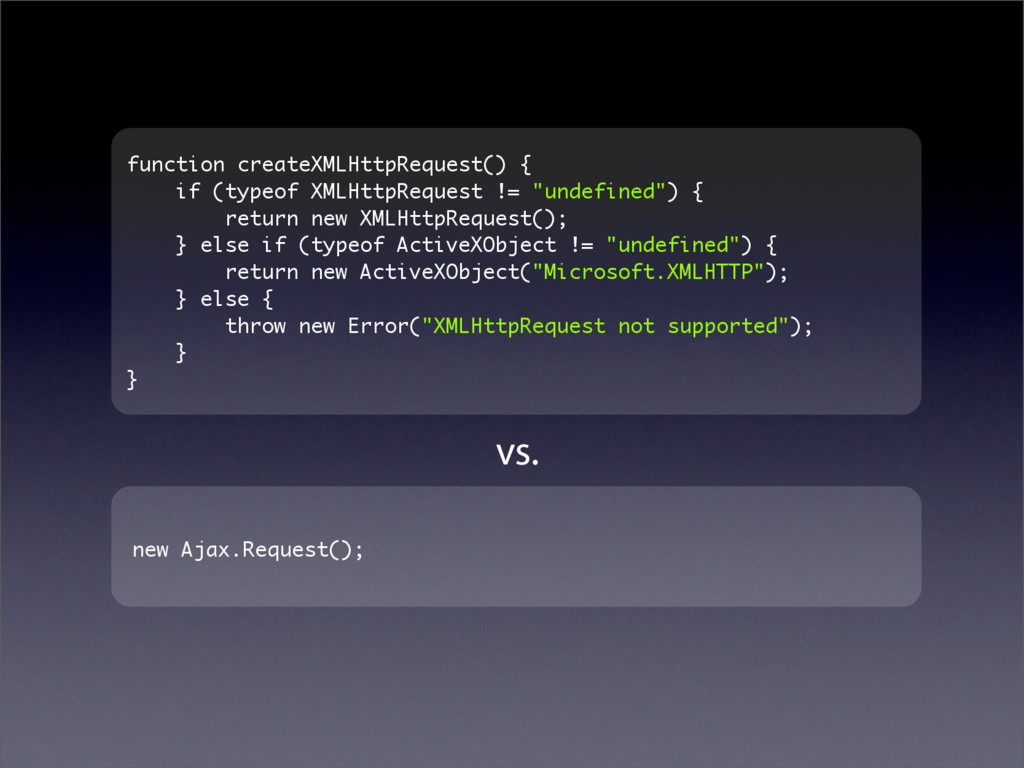 function createXMLHttpRequest() { if (typeof XM...