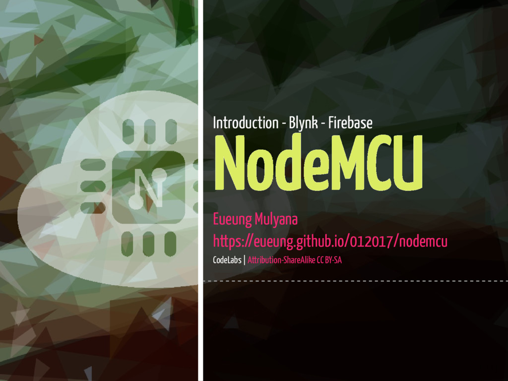 1 / 43 Introduction - Blynk - Firebase NodeMCU ...