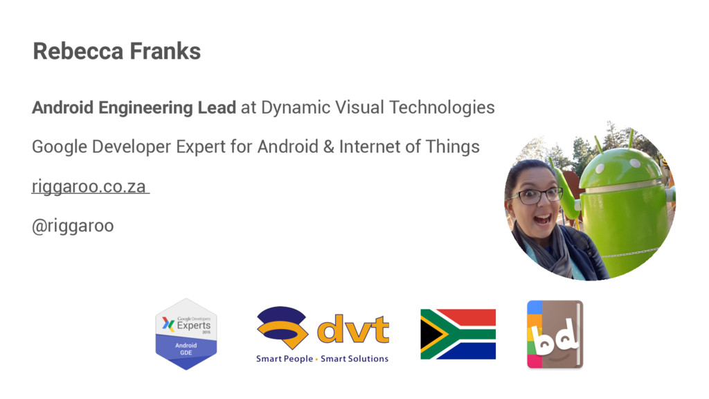 Android Engineering Lead at Dynamic Visual Tech...