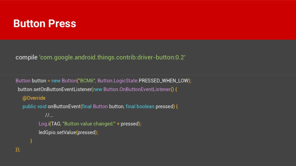 "Button button = new Button(""BCM6"", Button.Logic..."