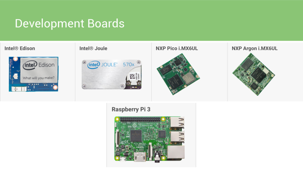 Development Boards