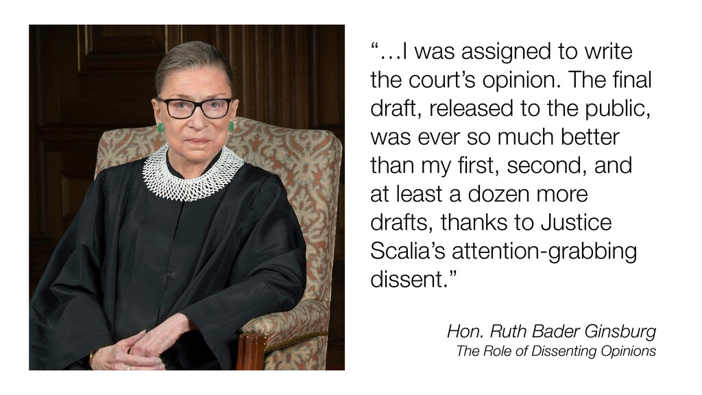 """…I was assigned to write the court's opinion. ..."