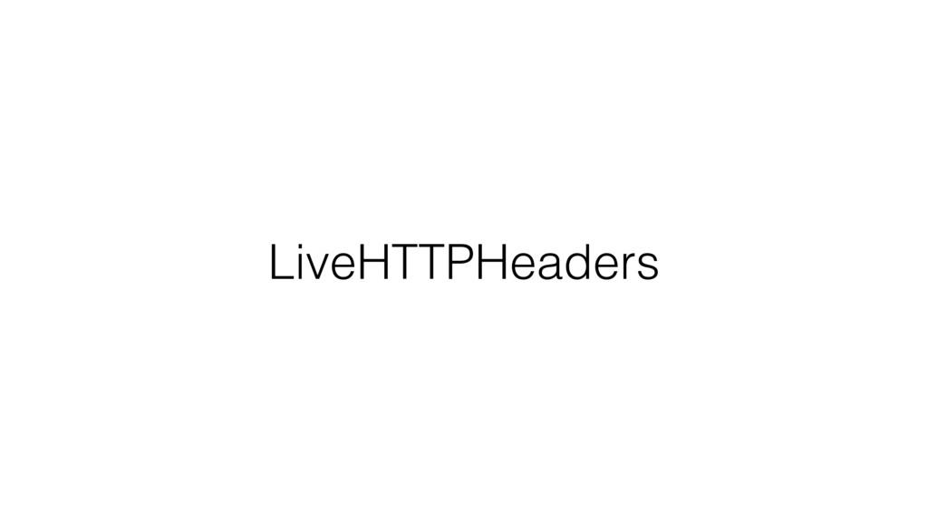 LiveHTTPHeaders