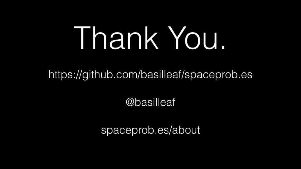 Thank You. https://github.com/basilleaf/spacepr...