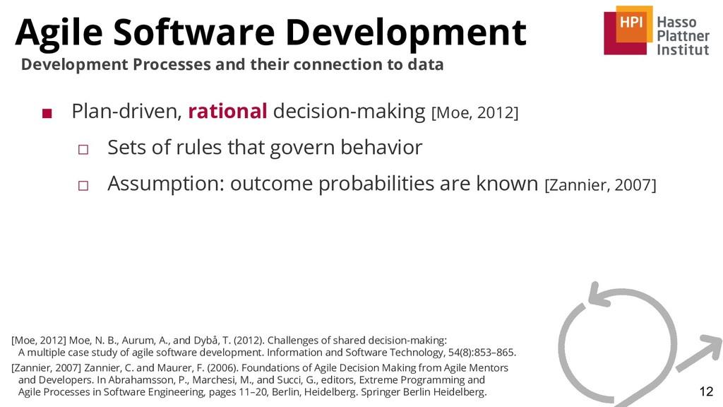 Agile Software Development 12 Development Proce...