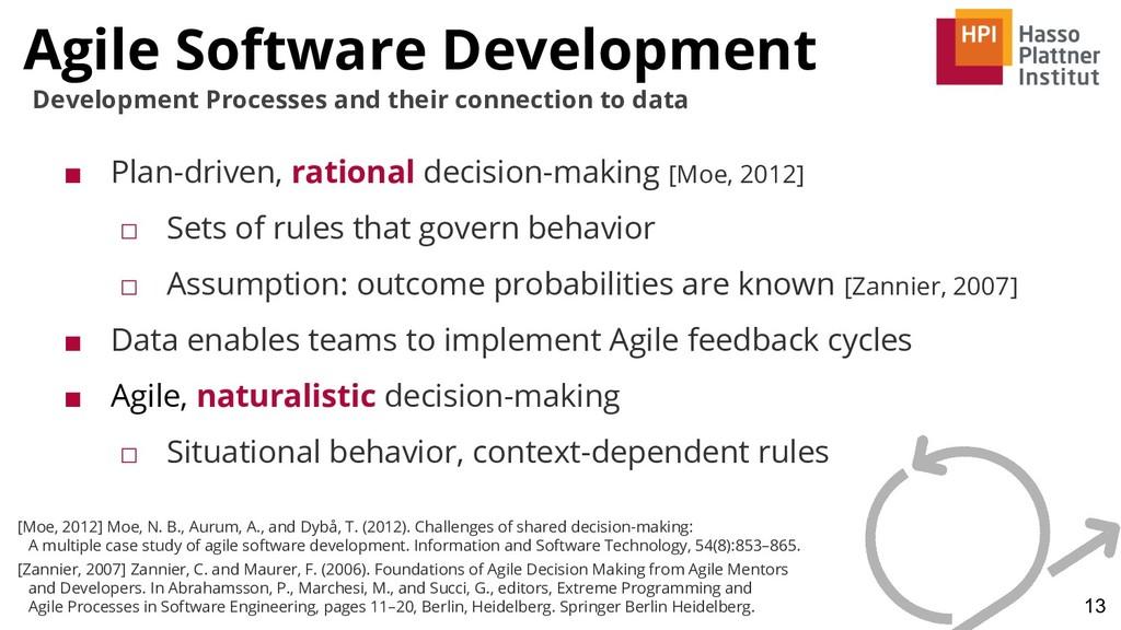 Agile Software Development 13 Development Proce...