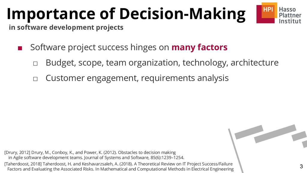 Importance of Decision-Making 3 in software dev...