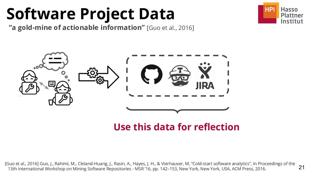 Software Project Data 21 Use this data for refle...
