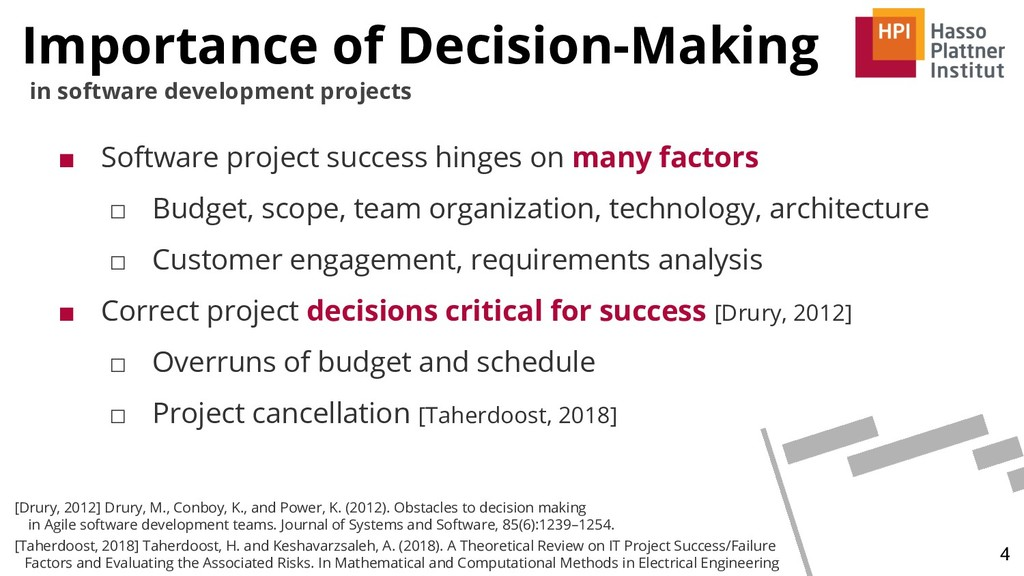 Importance of Decision-Making 4 in software dev...