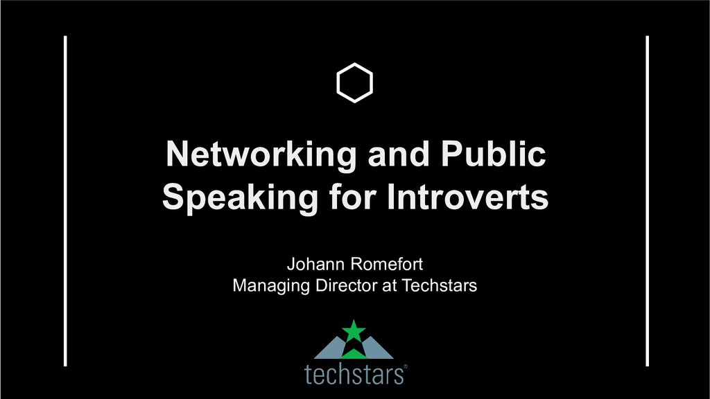 Networking and Public Speaking for Introverts J...