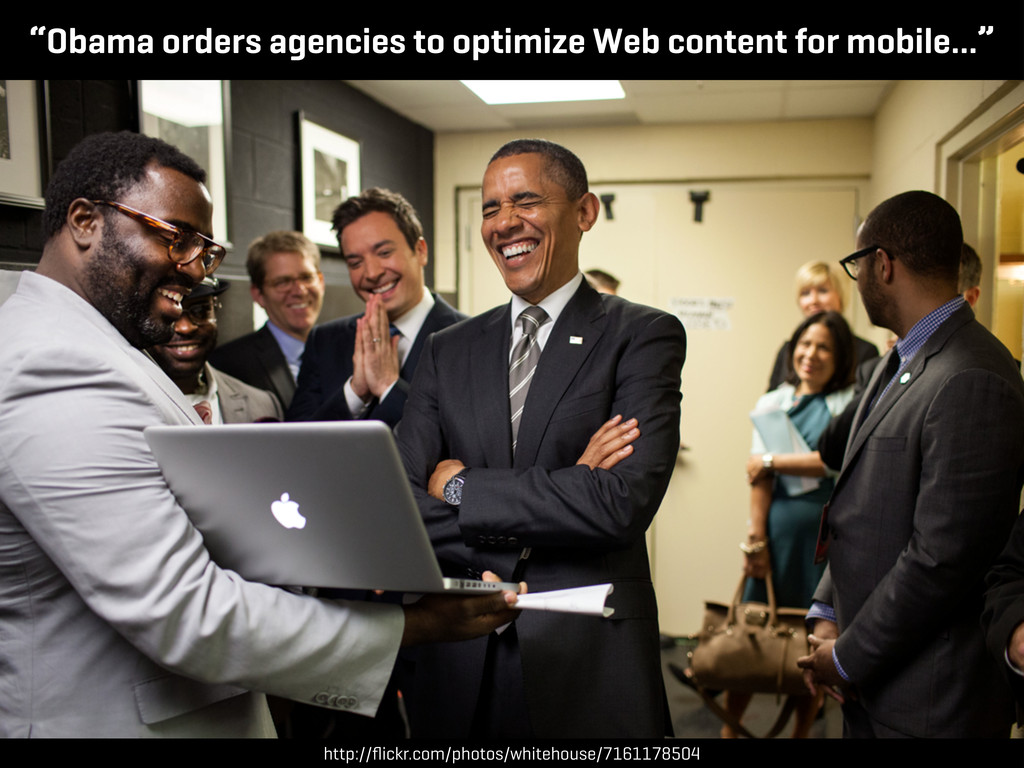 """""""Obama orders agencies to optimize Web content ..."""