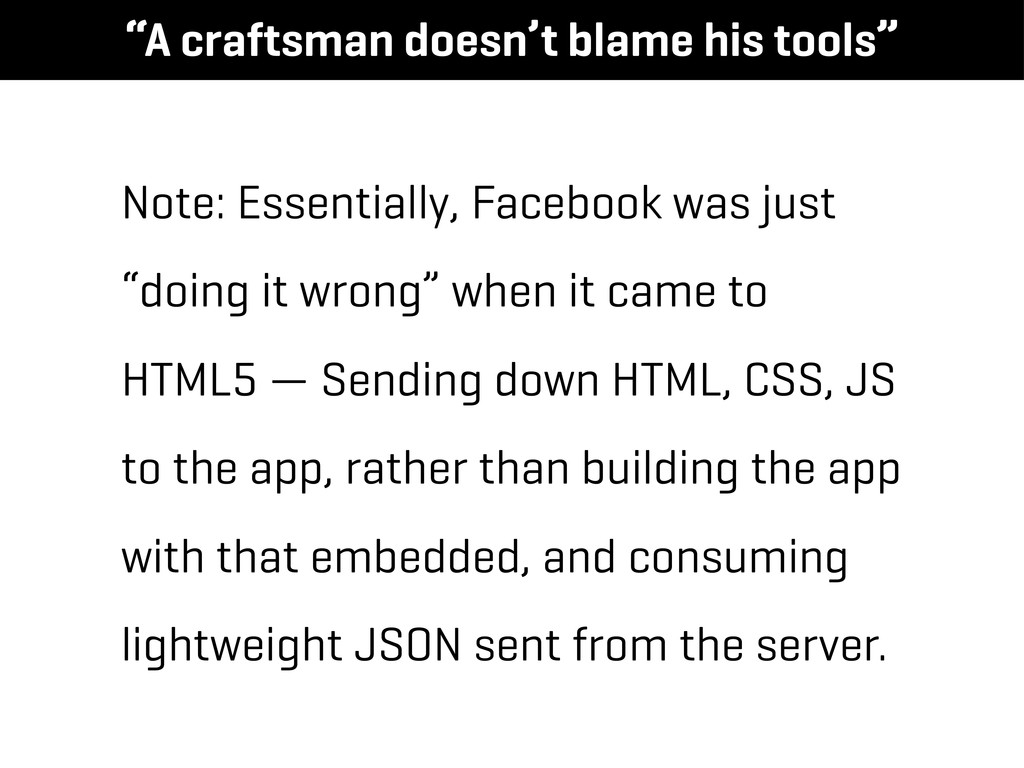"""Note: Essentially, Facebook was just """"doing it ..."""