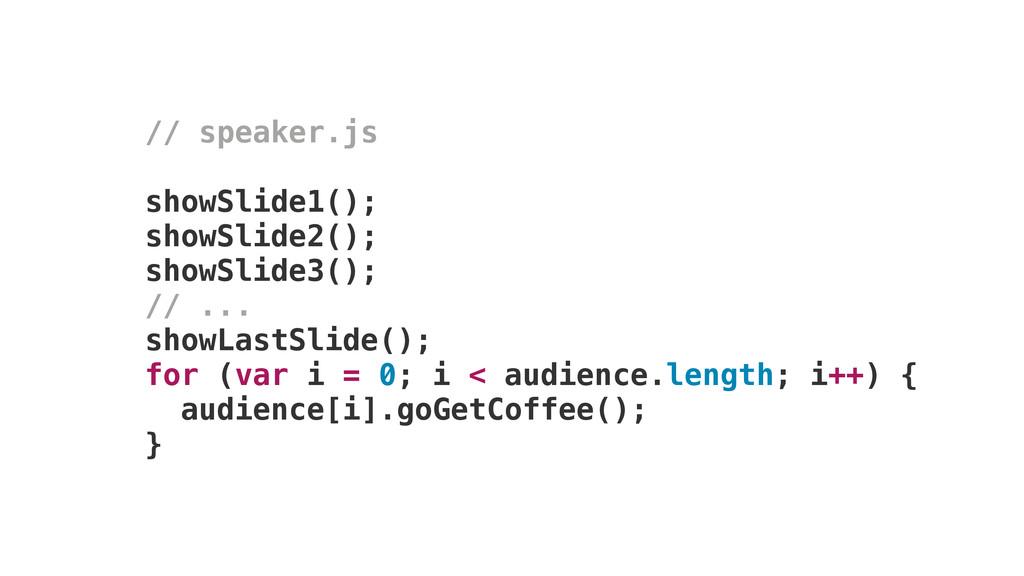 // speaker.js showSlide1(); showSlide2(); showS...