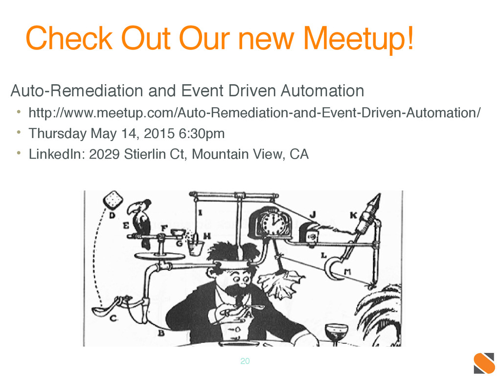 Check Out Our new Meetup! Auto-Remediation and ...