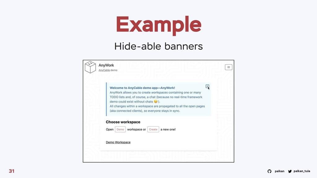 palkan_tula palkan Example 31 Hide-able banners