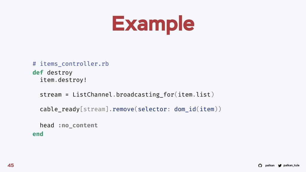 palkan_tula palkan Example 45 # items_controlle...