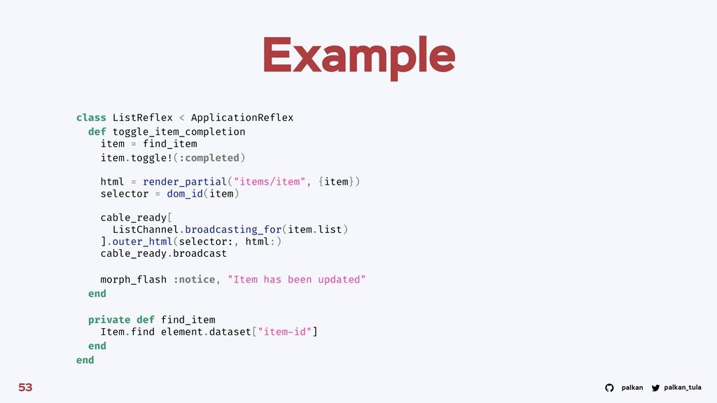 palkan_tula palkan Example 53 class ListReflex ...