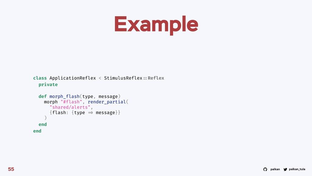 palkan_tula palkan Example 55 class Application...