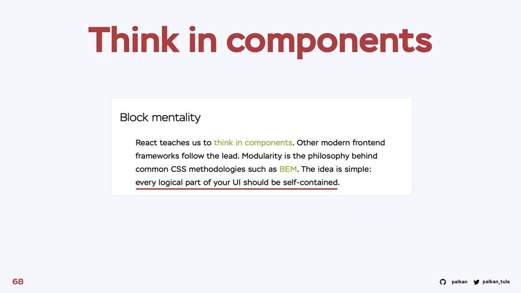 palkan_tula palkan 68 Think in components