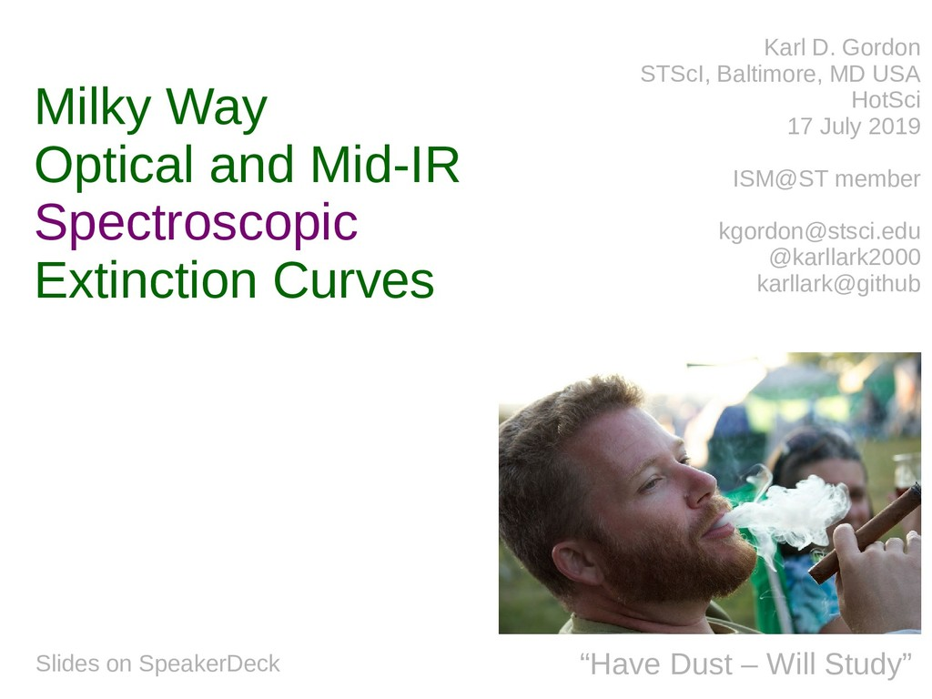 Milky Way Optical and Mid-IR Spectroscopic Exti...
