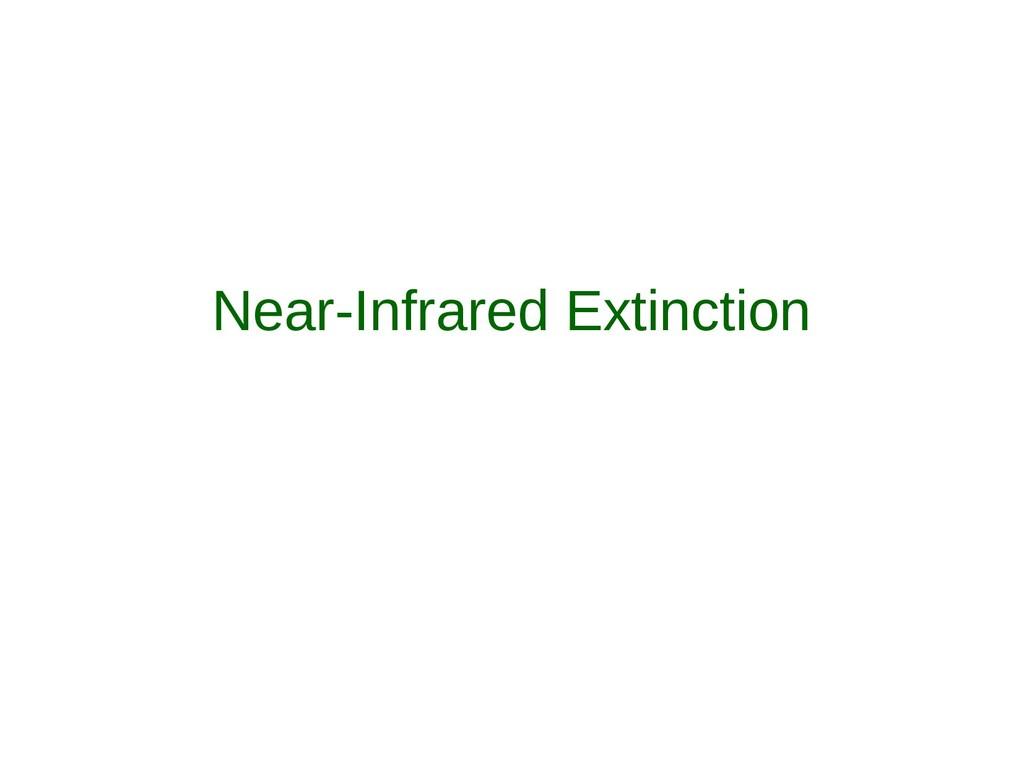 Near-Infrared Extinction