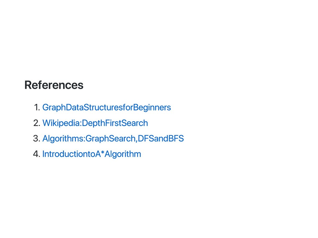 References 1. Graph Data Structures for Beginne...