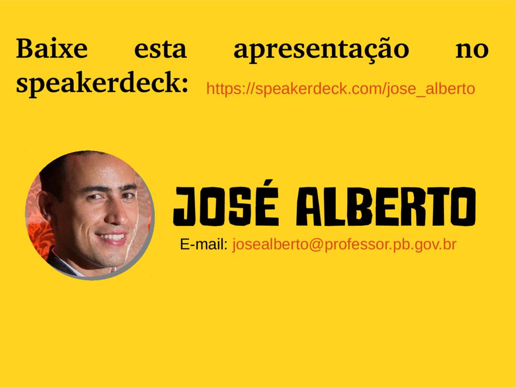 EEEFM João Úrsulo Baixe esta apresentação no sp...