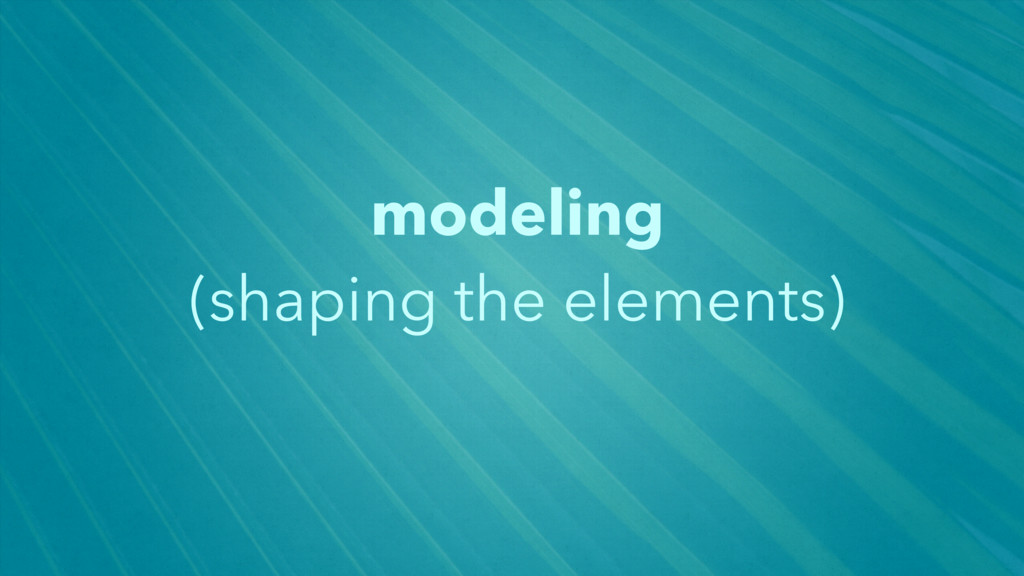 modeling