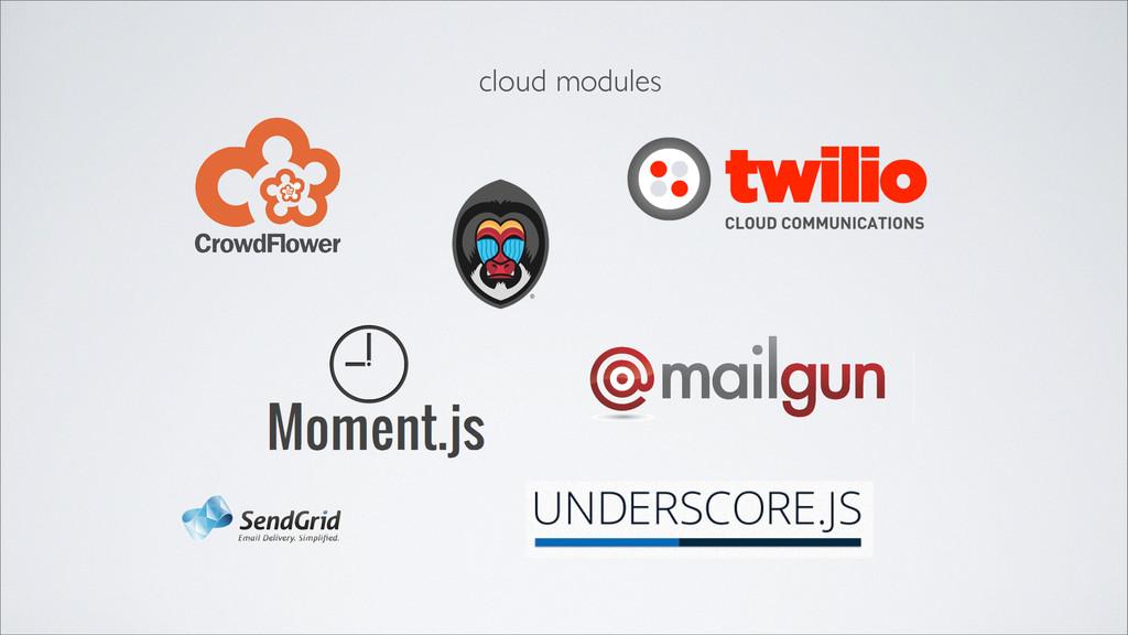 cloud modules