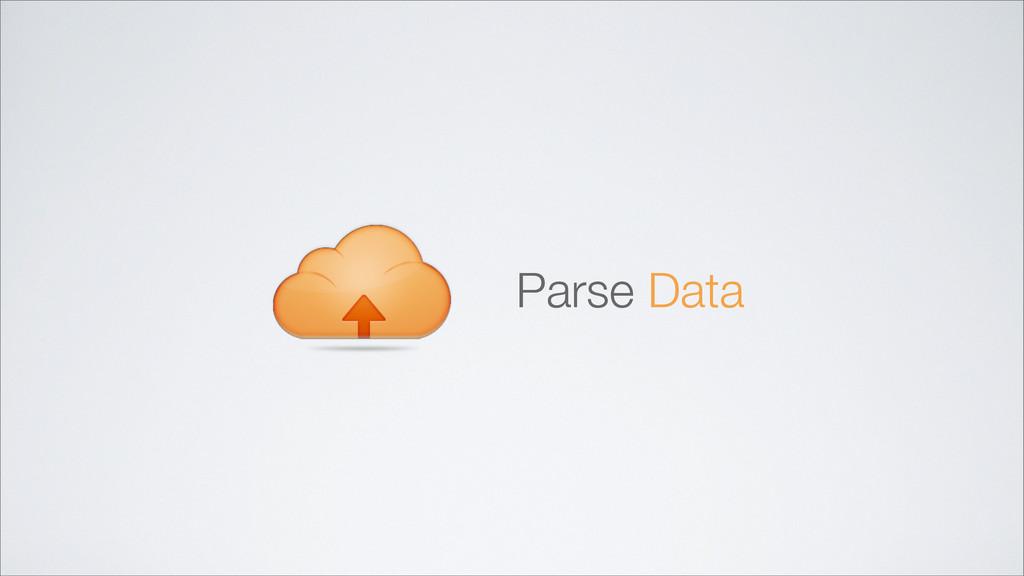 Parse Data