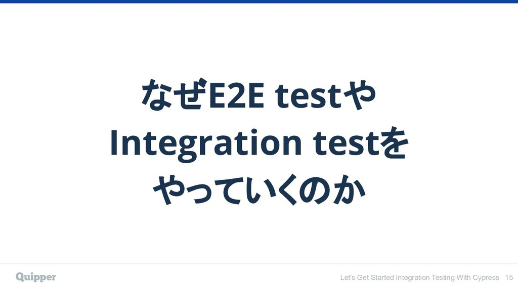 Let's Get Started Integration Testing With Cypr...