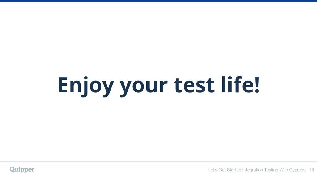 Let's Get Started Integration Testing With Cypr...
