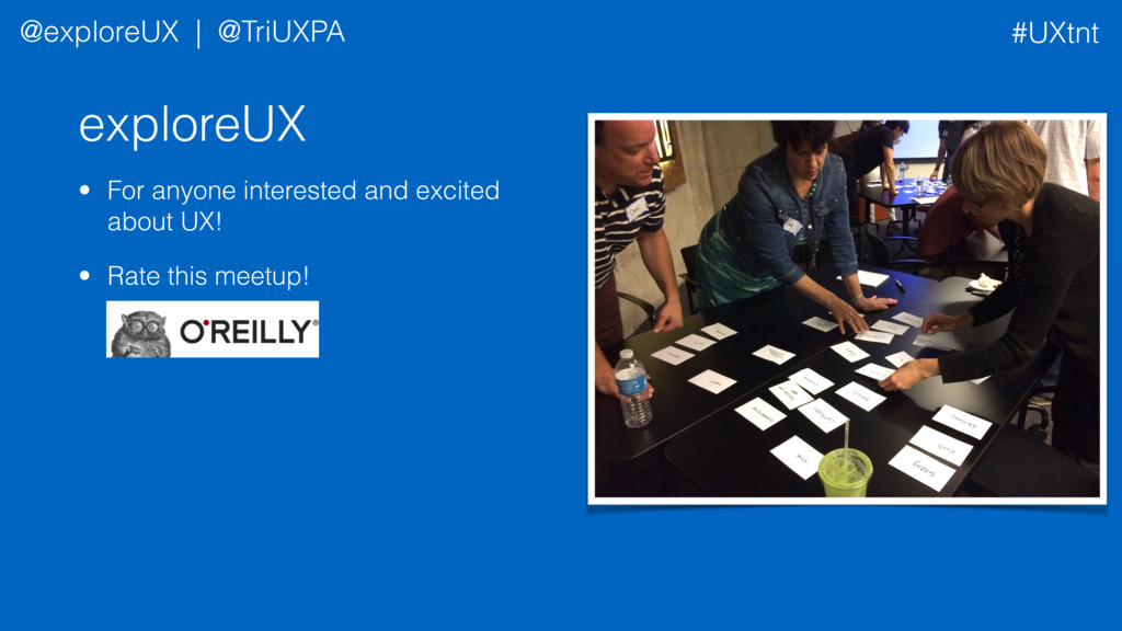 exploreUX • For anyone interested and excited a...