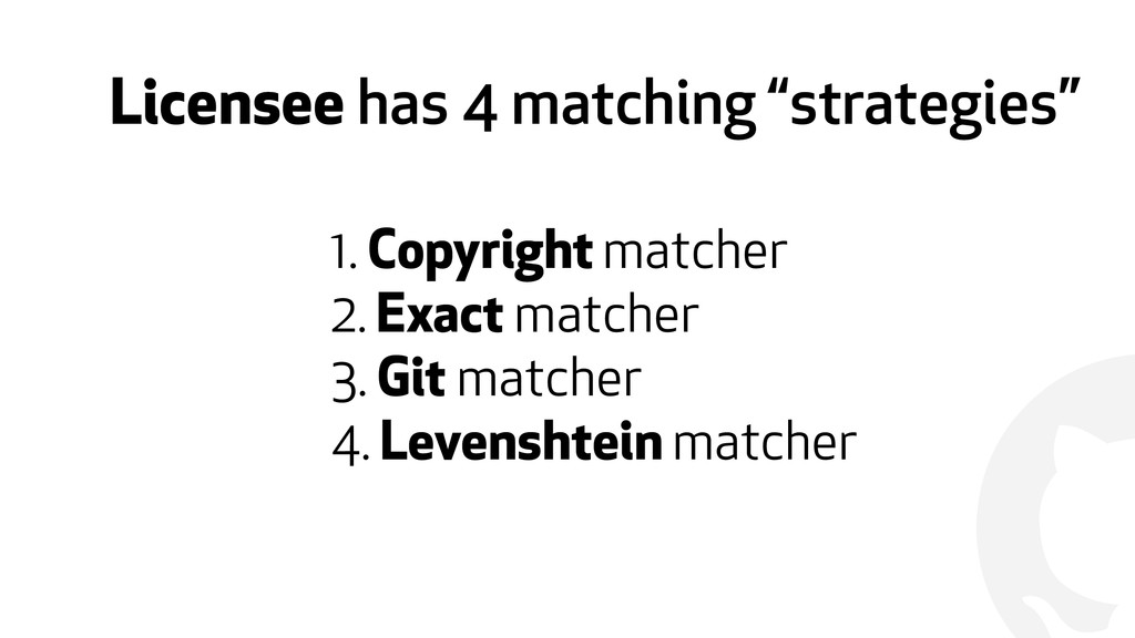 "! Licensee has 4 matching ""strategies"" 1. Copyr..."
