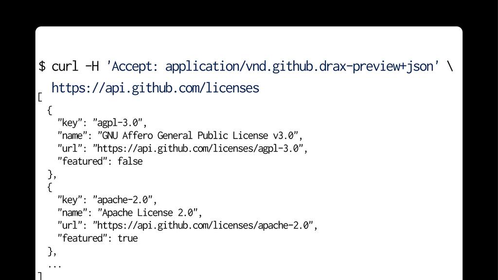 "[ { ""key"": ""agpl-3.0"", ""name"": ""GNU Affero Gene..."