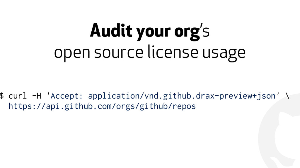 ! Audit your org's 