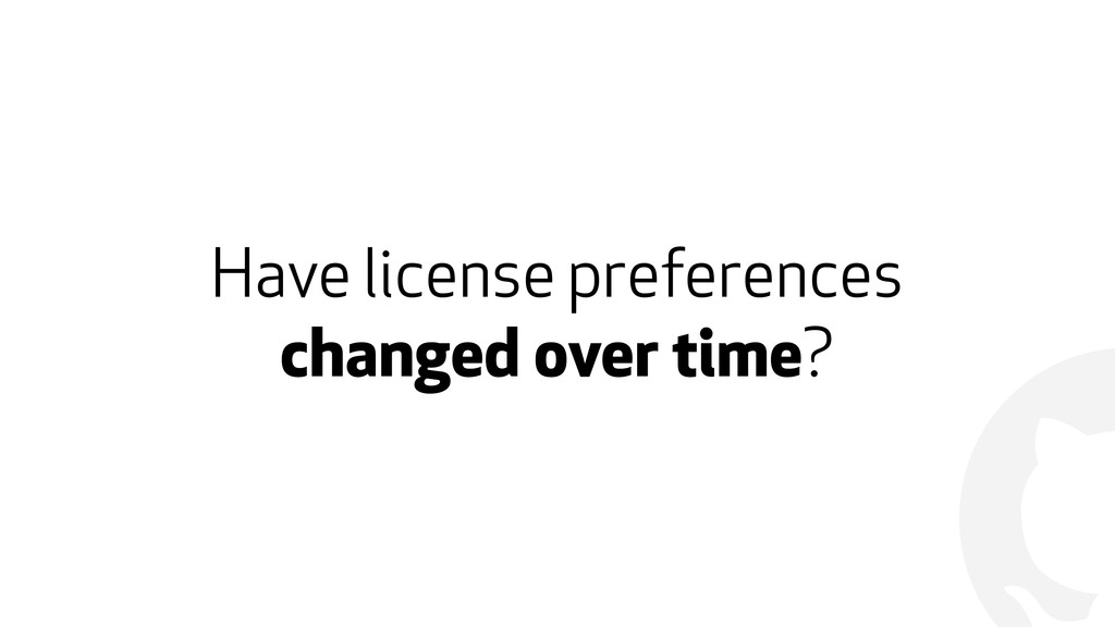 ! Have license preferences 