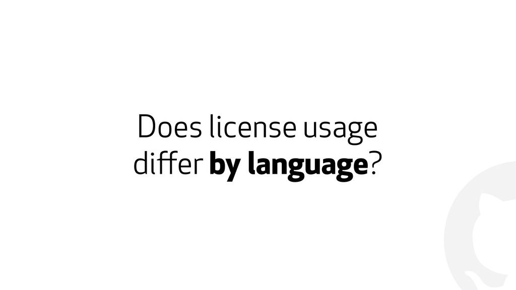! Does license usage 