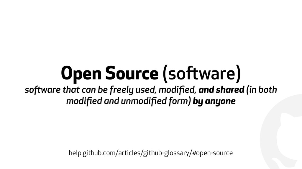! Open Source (software)