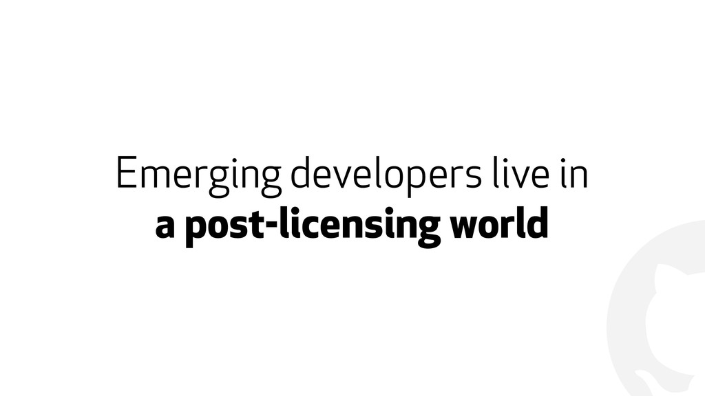 ! Emerging developers live in 